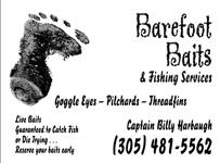 Barefoot Bait & Fishing Services - 304/481-5562